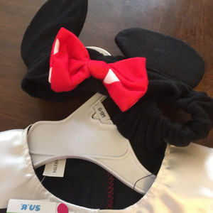 Disney Dresses - Disney Minnie Mouse 6-9Mos Dress w Headband